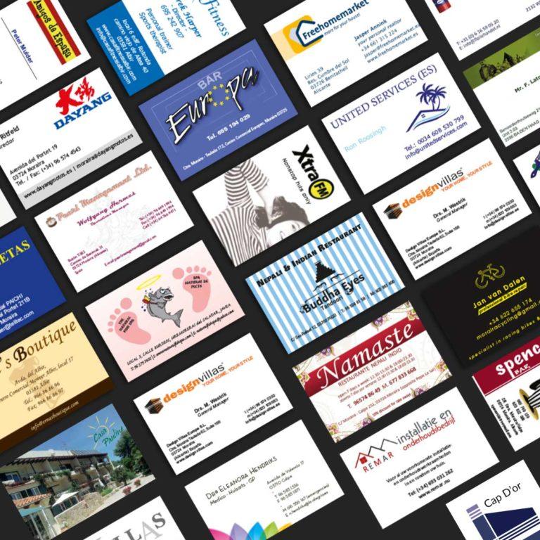 Marysan drukwerk visitekaartjes